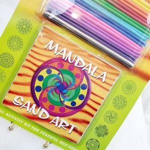 Mandala Sand Art Activity Kit Walter Foster NWT